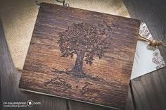Image result for wedding guest book rustic