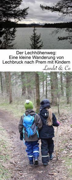 Von Lechbruck über den Lechhöhenweg nach Prem. Abwechslungsreich geht es über Brücken, Waldwege und Stege durch die Flussauen. Naturlehrpfad und Wald-Spielplatz inklusive