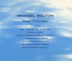 """For Sale - Michael Bolton Soul Provider UK Promo  CD single (CD5 / 5"""") - See this and 250,000 other rare & vintage vinyl records, singles, LPs & CDs at http://eil.com"""