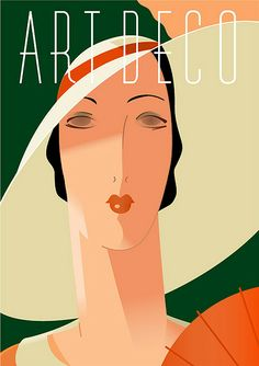 Art Deco poster illustration by Richard Weiss Arte Art Deco, Motif Art Deco, Estilo Art Deco, Art Deco Era, Art Deco Design, Posters Vintage, Retro Poster, Art Deco Posters, Vintage Art