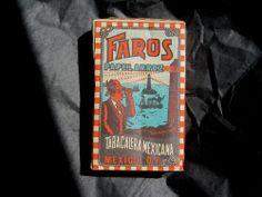 Faros Cigarette package, from Mexico