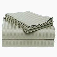 600 Thread Count Sateen Stripe Egyptian Cotton Pillow Case. (Standard) Set of 2 Beige by Homespell. $23.99. 100% Egyptian Cotton. Two Std., pillowcases.. Imported.. 600 thread Count. These sateen stripe pillow cases are itself a luxury and added to that they are made of Egyptian cotton and has a 600 thread count. Care: Machine wash cold or warm, tumble dry on low.