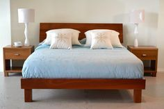 jarrah contemporary bed frame - Google Search