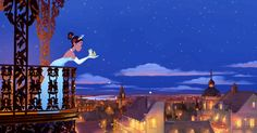 Ray the Firefly from Disneys Princess and the Frog Desktop Wallpaper