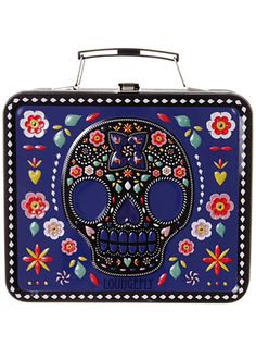 Darling Day of the Dead Lunchbox at ShopPlasticland.com