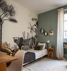 Modern Tropical, Tropical Houses, My Little Baby, Baby Boy Rooms, Baby Room Decor, Kids Bedroom, My House, Interior Design, Gabriel