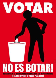 Votar/Botar: Anyone else find it ironic that these two words are pronounced the same?