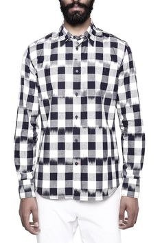 GENES - Lecoanet Hemant Men's Casual Shirt: Amazon.in: Clothing & Accessories
