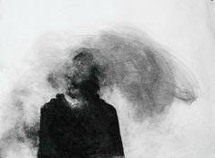 Black and White depressed depression sad pain broken insane sadness Demon 666 demons depressive insanity