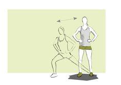 Ausfallschritt Seitlich / Diagonal Lunge #sportboxx #bwe #exercise #ausfallschritt #lunge #functional #fitness #training Lunge, Exercises, Fitness, Exercise Routines, Excercise, Work Outs, Workout