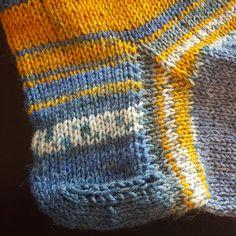Anleitung Käppchenferse für Socken