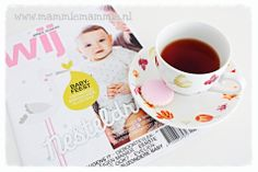 Tijdschrift wij jonge ouders. Lekker kopje thee. Nice cup of Dilmah tea.