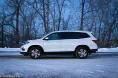 The 2016 Honda Pilot crossover SUV marks the third generation of