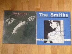 The Smiths Lot of 2 Albums Queen Is Dead Hatful of Hollow Signed by MOZ | eBay