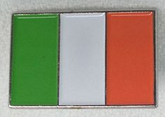 Hey, I found this really awesome Etsy listing at https://www.etsy.com/listing/248962940/irish-flag-pin