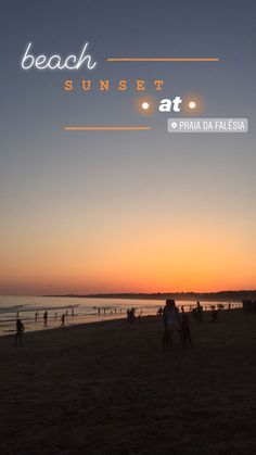 Instastorys idea: beach sunset ✨ - s t o r y s Instagram Beach, Creative Instagram Stories, Instagram Story Ideas, Photo Snapchat, Instagram And Snapchat, Snapchat Stories, Insta Photo Ideas, Insta Ideas, Insta Story