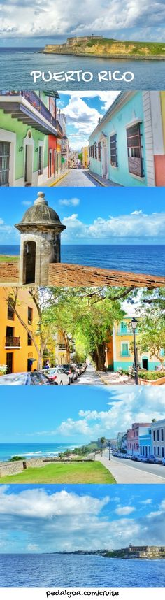 During your Caribbean cruise with a Puerto Rico day in port at San Juan during your vacation, here are free things to do in Puerto Rico near the cruise port! As long as you don't mind walking, you can make your day itinerary a budget friendly self-guided historic walking tour of Old San Juan! Old city walls and forts of San Juan are UNESCO world heritage sites and part of the San Juan National Historic Site which makes it part of national parks! Lots of Puerto Rico culture and history here!
