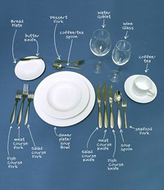Lesson:  Setting a Table