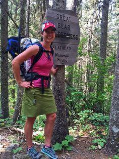 Purple Rain Skirts: why we love this hiking skirt with pockets - Garage Grown Gear Thru Hiking, Hiking Gear, Hiking Backpack, Backpacking Tips, Athletic Women, Athletic Wear, Hiking Skirt, Go Camping, Camping Ideas