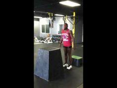 Phil Davis explosive training