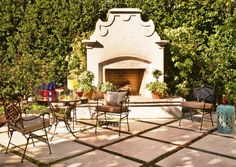 29 Outdoor Fireplace Ideas | Midwest Living