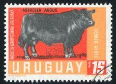 URUGUAY - CIRCA 1970: stamp printed by Uruguay