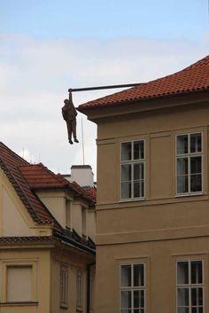 Man Hanging Out - Sigmund Freud