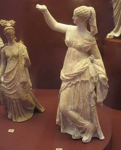 Roman statuette of dancing girl by rosewithoutathorn84, via Flickr