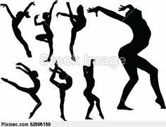 gymnastic siluets | Baixar prévia Adicionar aos favoritos ativos