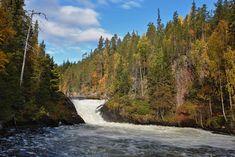 Jyrävänkoski Oulangan kansallispuistossa. Finnish Language, I Want To Travel, Ancient History, Finland, Natural Beauty, Waterfall, Scenery, To Go, Earth