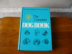 Vintage The Complete Dog Book 1973 American by ShopHereVintage