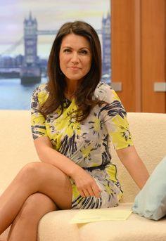 Susanna Reid Great Legs she loves showing them