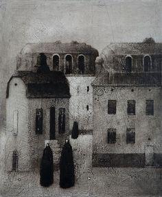 theantidote:    The Village by Timo Salekivi    (via theforbiddencolors:)