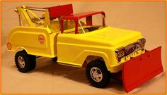 1958 Custom Tonka Shell Wrecker with Plow