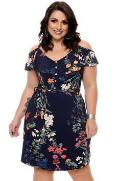 Fall Fashion Tips Vestido Estampado Plus Size.Fall Fashion Tips Vestido Estampado Plus Size Plus Size Fashion For Women, Plus Size Women, Plus Fashion, Fashion Night, Trendy Fashion, Fall Fashion, Plus Size Summer Dresses, Plus Size Outfits, Big Size Dress