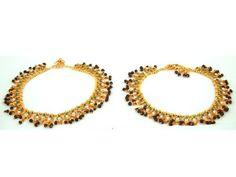 Traditional Anklet, 1 Pair Kundan Polki Ankle Bracelet Bollywood Fashion Indian Jewelry Mogul Interior,http://www.amazon.com/dp/B00B1OKOZA/ref=cm_sw_r_pi_dp_DkQhsb0C0PKP4XA1