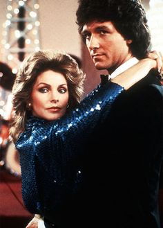 Dallas Bobby Ewing Jenna Wade Falcon Crest, Dallas Tv Show, Larry Hagman, Kino Film, Priscilla Presley, Favorite Tv Shows, Bobby, Entertainment, Celebrities
