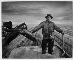 Prairie Wheat Farmer, Regina, Canada, 1953 by Yousuf Karsh