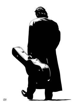 Johnny Cash / a music project tribute | Giuseppe Cristiano