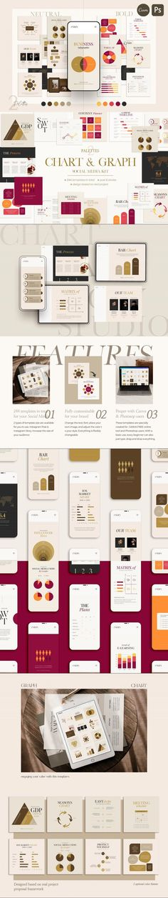 Chart & Graph Duo Palette | CANVA PS #style #InstagramPost #amabile #InstagramStory #stepbystep #influencermediakit #comparison #instagrampost #infographic #bloggerposttemplate #ig #cycleicon #InstagramFamous #multiple #ig #InstagramStoriesTemplate #InstagramStoryTemplate #internet #instagramstory