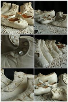 collection of childrens shoes