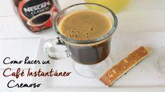 Como hacer CAFE INSTANTANEO Cremoso / Alicia Borchardt