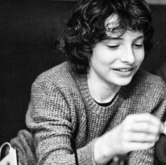 Finn Wolfhard: Stranger Things Young actor with incredible talent Millie Bobby Brown, Lp Laura Pergolizzi, Finn Stranger Things, Love Him, My Love, Light In, Series Movies, Beautiful Boys, Future Husband