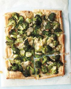 Broccoli-Pecorino Tart Recipe
