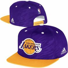adidas Los Angeles Lakers Authentic On-Court Snapback Adjustable Hat -  Purple Gold 24dbb4a417c9