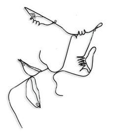 Buy Lovers, One of a kind sculpture by Bart Soutendijk on Artfinder. Discover th… Buy Lovers, One of a kind sculpture by Bart Soutendijk on. Wire Art Sculpture, Small Sculptures, Wire Sculptures, Abstract Sculpture, Bronze Sculpture, Paar Illustration, Portrait Illustration, Tattoos Motive, Art Sketches