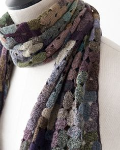 Sophie Digard 2013AW COLOUR CAPS MERINO WOOL SCARF (inspiration)