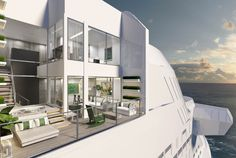Celebrity Edge Cruise Ship Villas The luxury 950-square-foot, split-level Edge Villa residences are the first of their kind in Celebrity's fleet. In these private oceanfront villas, indoor and outdoor living is seamlessly blended, with two stories of windows that look out over the terrace and plunge pool to the incredible views beyond.