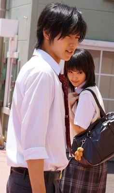 """Kento Yamazaki x Ayame Goriki, J LA movie """"L<3DK"""", 2014."""