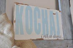 Kochaj i rób, co chcesz - tablica drewniana - OLDTREE - Ozdoby na ścianę